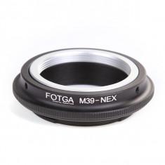 Adaptor FOTGA obiectiv M39 la camere Sony Nex 3 5N 6 7 C3 3N 5R A7 A7R A7S II - Inel adaptor obiectiv foto