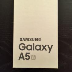 Samsung Galaxy A5 2016 Negru, Ambalaj original, Neutilizat, Factura, Garantie - Telefon Samsung, Vodafone, Single SIM