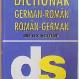 DICTIONAR GERMAN - ROMAN, ROMAN - GERMAN DE UZ SCOLAR de HELEN KUCKUCK - Carte in alte limbi straine