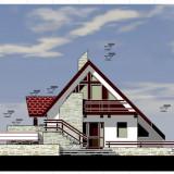 "Casa ""la rosu"" in Satul Magura Branului, Comuna Moeciu - Casa de vanzare, 190 mp, Numar camere: 5, Suprafata teren: 625"