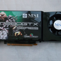 Msi GTX280 1gb ddr3 / 512 bits Gaming Dual Dvi - Placa video PC Msi, PCI Express, nVidia