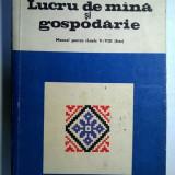Elena Dimitriu Tomozei - Lucru de mana si gospodarie {Manual pentru clasele V-VIII fete}