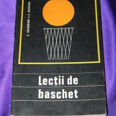 Lectii de baschet - C Calugareanu, C Negulescu (f3078