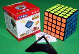 Profesional ShengShou 5x5x5 Cub Rubik + Stand pt cub Gratuit