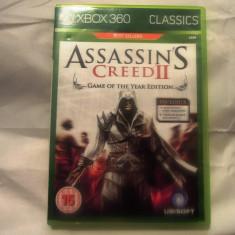 Assassin's Creed 2 Game of The Year, XBOX360, original, alte sute de jocuri! - Jocuri Xbox 360, Actiune, 18+, Single player