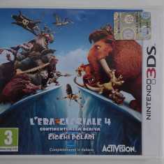 Discheta - caseta Joc original Nintendo 3DS XL ICE AGE4 Continental Drift Arctic - Jocuri Nintendo 3DS, Strategie, 3+, Multiplayer