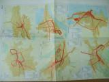 Timisoara Cluj Iasi Galati Brasov Constanta transportul in comun harta color