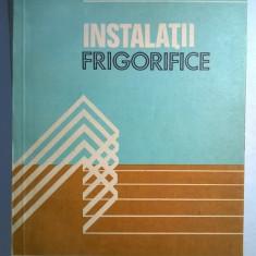 Fl. Chiriac - Instalatii frigorifice - Carte Alimentatie