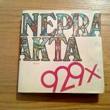 NEPRAKTA - 929X - Nakladatelstvi Prace Praha, 1984, 269 p.; lb. ceha