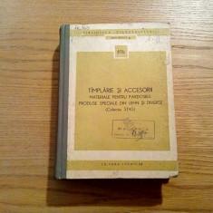 TIMPLARIE SI ACCESORII * Materiale pentru Pardoseli, Produse Speciale din Lemn - Manual scolar Altele, Clasa 5, Alte materii