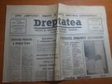 ziarul dreptatea 15 decembrie 1990--studentii,speranta democratiei