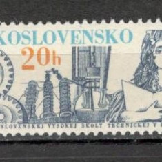 Cehoslovacia.1979 40 ani Institutul Superior Tehnic Bratislava CC.455 - Timbre straine, Nestampilat