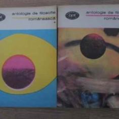 Antologie De Filosofie Romaneasca Vol.1-2 - Colectiv, 393809