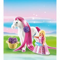 Printesa Rosalie cu calut Playmobil