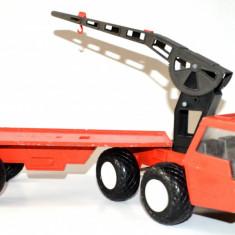Jucarie veche Camion transportor BULL IDEAL ZUM SPIELEN MERCEDES 1/18 incomplet - Macheta auto