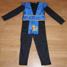 Costum carnaval serbare ninja pentru copii de 4-5 ani, Marime: Masura unica, Culoare: Din imagine