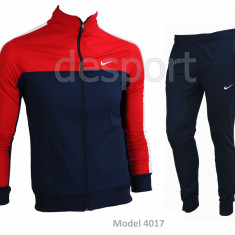 Trening barbati Nike - Model Nou - Silon - Bluza si pantalni conici Pret special, Marime: S, M, L, XL, XXL, Culoare: Din imagine