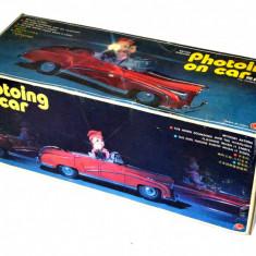 Cutie pentru jucarie veche de colectie Photoing On Car - ME - 630