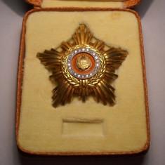 Ordinul Steaua Romaniei RSR Clasa a 2 a la Cutie Piesa de Colectie