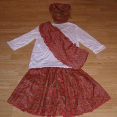 Costum carnaval serbare scotian pentru adulti marime M, Marime: Masura unica, Culoare: Din imagine