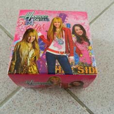 Ceas de mana Hannah Montana, ceas pentru fetite, marime universala, 6-15 ani - Ceas dama, Casual, Mecanic-Automatic, Inox, Analog
