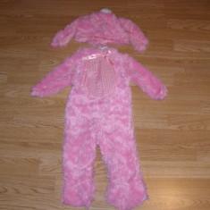 Costum carnaval serbare iepure iepuras pentru copii de 1-2 ani, Marime: Masura unica, Culoare: Din imagine