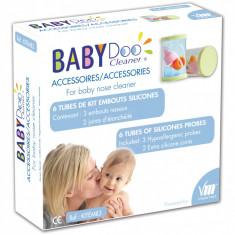Kit varfuri din silicon de schimb pentru aspiratorul nazal BabyDoo MX-One - Aspirator nazal copii
