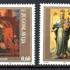 JUGOSLAVIA 1994, Arta, serie neuzata, MNH, Iugoslavia, Nestampilat
