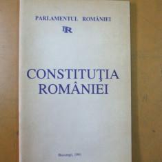 Constitutia Romaniei Bucuresti 1991