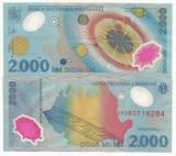 ROMANIA  2000  2.000 LEI  1999  UNC  UNC  ECLIPSA   ,  necirculata -  din fisic