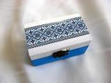 Cutie lemn cu motiv traditional 28220