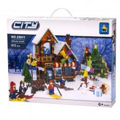 Set de construit Scena de Craciun 812 piese - LEGO Architecture