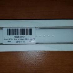 Bratara Apple Watch White-band 38 mm - Curea ceas cauciuc