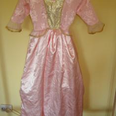 Costum carnaval serbare rochie barbie pentru copii de 4-5-6 ani, Marime: Masura unica, Culoare: Din imagine