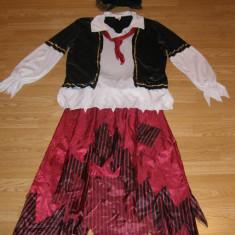 Costum carnaval serbare pirata pentru adulti marime XL, Marime: Masura unica, Culoare: Din imagine