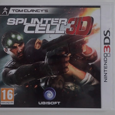 Caseta Discheta Joc Nintendo 3DS original Splinter Cell 3D ca nou in carcasa - Jocuri Nintendo 3DS, Shooting, 3+, Multiplayer
