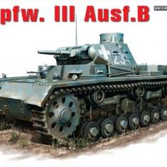+ Macheta scara 1/35 Miniart 35162 - Panzer 3B + - Macheta auto