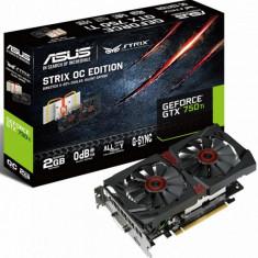 Placa video ASUS NVIDIA STRIX-GTX750TI-OC-2GD5, GTX 750 Ti, PCI-E, 2048MB GDDR5, 128 bit, GPU Boost Clock : 1202 MHz, 5400 MHz, 2*DVI, HDMI, bulk - Placa video PC Asus, PCI Express, 2 GB