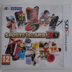 Caseta Discheta Joc Nintendo 3DS original Sports Island 3D ca nou in carcasa - Jocuri Nintendo 3DS, Sporturi, 3+, Multiplayer