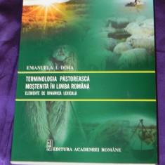 Emanuela I Dima - Terminologia pastoreasca mostenita in limba romana (f3133