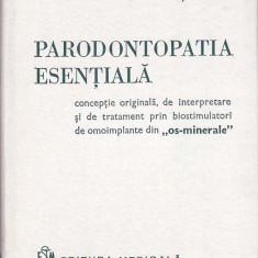 GRIGORE OSIPOV-SINESTI - PARODONTOPATIA ESENTIALA