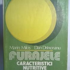 M. Milos, D. Drinceanu - Furajele Caracteristici nutritive si utilizare - Carti Agronomie