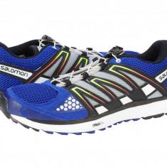Adidasi alergare barbati Salomon X-Scream g blue-white-black 366777 - Adidasi barbati Salomon, Marime: 40