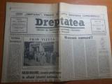 ziarul dreptatea 14 decembrie 1990--art. despre iuliu maniu