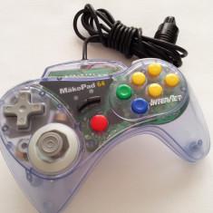Maneta Nintendo 64 Mako Pad N64 controller joystick consola joc tv n 64