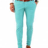 Pantaloni tip ZARA vernil - pantaloni barbati slim fit office - 7800, Marime: 30, 31, 32, 33, 34, 36, Culoare: Din imagine