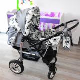 Carucior 2 in 1 Baby Sportive - Carucior copii 2 in 1 Baby Sportive, Gri