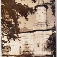 A17 RPR CP circulata 1966 biserica manastirea Popauti jud Botosani - Carte Postala Moldova dupa 1918, Fotografie