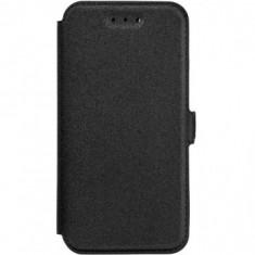 HUSA POCKET BOOK SAMSUNG GALAXY A5 2016 A510 FLIP NEGRU - PDA HP