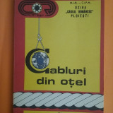 "Catalog cabluri din otel ""Cablul Romanesc Ploiesti"" / C9P"